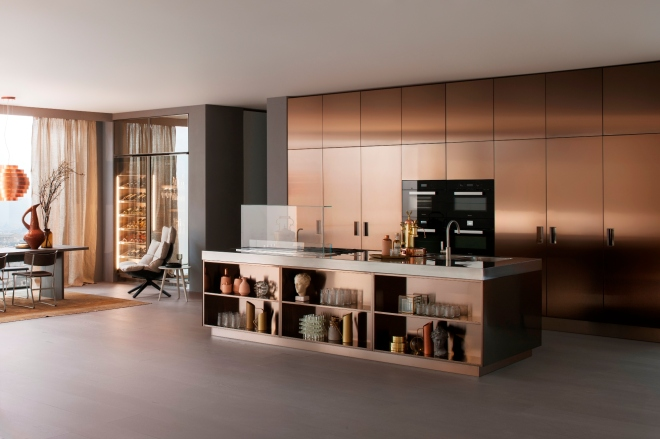 Arclinea Italian Kitchen Designed by Antonio Citterio